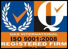 Gas International ISO 9001:2008; Registered Firm